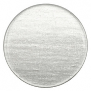 35mm flat cabochon Super Polaris Light cloudy grey