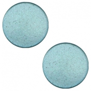 7mm flat cabochon Super Polaris Dark sea blue