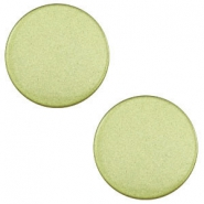 12mm flat cabochon Super Polaris Salvia green