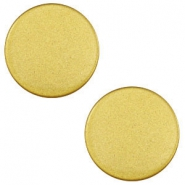 12mm flat cabochon Super Polaris Spicy mustard green