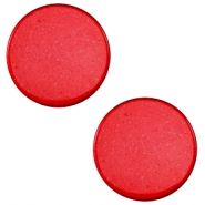 20mm flat cabochon Super Polaris Jester red
