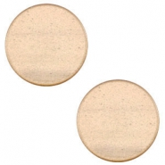 12mm flat cabochon Super Polaris Hazel brown
