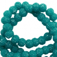 Sparkling beads 8mm Glacier Green