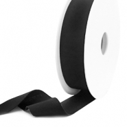 Elastic Ibiza Ribbon 25mm Black