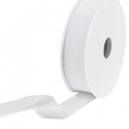 Elastic Ibiza Ribbon 25mm Light Grey