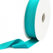 Elastic Ibiza Ribbon 25mm Blue Zircon