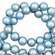 Miracle 3D beads 8mm Ice Blue