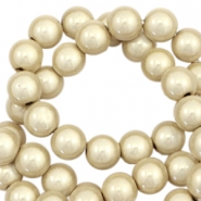 Miracle 3D beads 6mm Champagne Beige