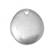 ImpressArt stamping blanks drop shaped charm Pewter Silver