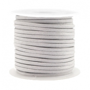 Trendy flat cord silk style 2mm Light Grey