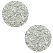 7 mm flat Polaris Elements cabochon Goldstein Pewter Grey