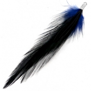Feathers plush Midnight Dream Blue