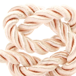 Trendy cord weave 10mm Light salmon rose