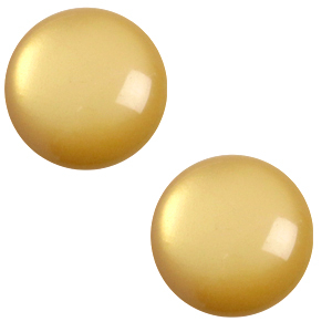 7 mm classic Polaris Elements cabochon soft tone Curry Yellow