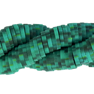 Katsuki beads 4mm Dark Viridian Green