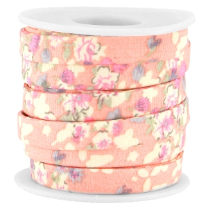 Trendy 10mm flat cord Antique pink