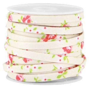 Trendy 5mm flat cord Beige