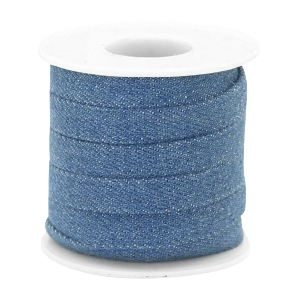 Trendy flat denim cord 10m Regular blue