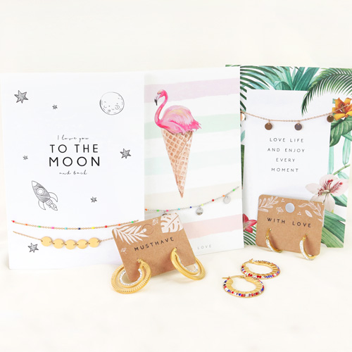 Looking for new must-have jewellery and matching jewellery cards?