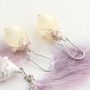 Detailed jewellery in soft colours with Artistic Wire