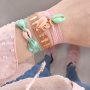 EASY DIY: cute bracelets made in less than 2 minutes