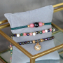 Outstanding jewellery with natural stone faceted beads