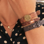 Get inspired: Cuoio bracelets in trendy winter colours