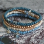 Make stylish jewellery by combining seed beads with surprising items
