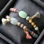 Cute and colourful jewellery with small tassels