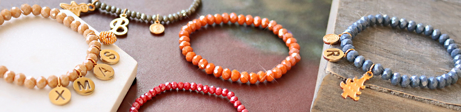 Sisa / Top faceted bracelets
