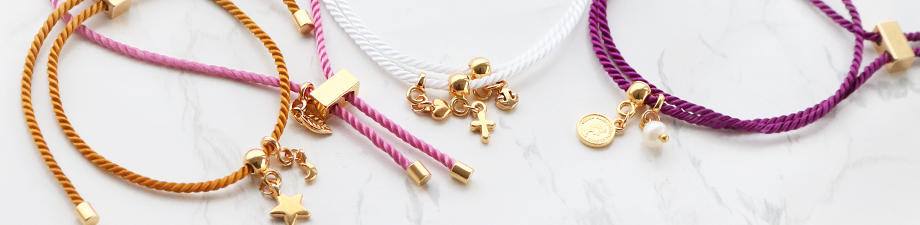 Trendy cord to create jewellery