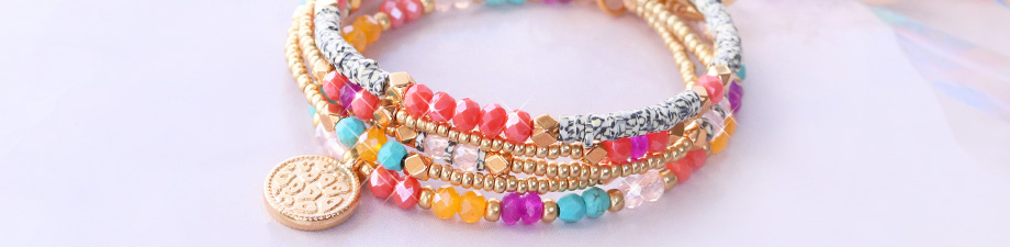 Faceted beads; the summer collection!