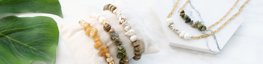 We're loving it: new chips stone beads