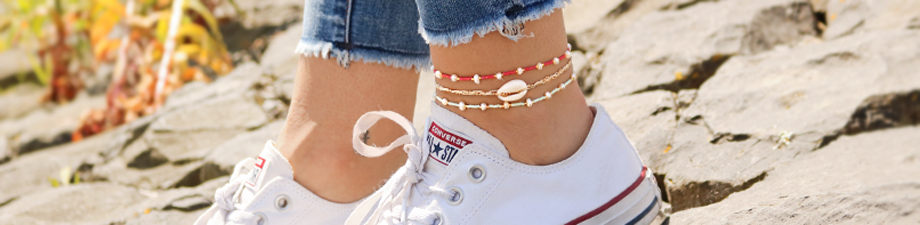 Must-have! Bracelets and anklets with Miyuki and freshwater pearls